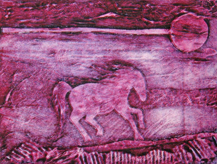 collagraph-horse-pink-11-2008